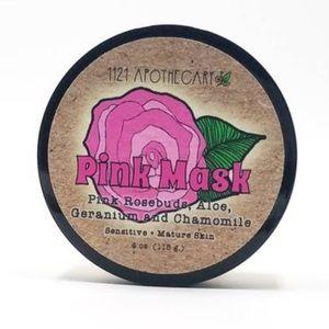 Pink Rose Face Mask 4oz